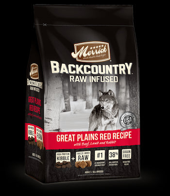 MERRICK Backcountry Grain Free Dog Food - Great Plains Red Meat for All Life Stages