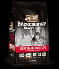 MERRICK Backcountry Grain Free Dog Food - Great Plains Red Meat for All Life Stages - Canadian Pet Connection