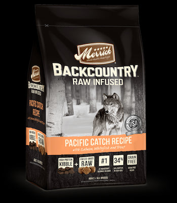 MERRICK Backcountry Grain Free Dog Food - Pacific Catch for All Life Stages