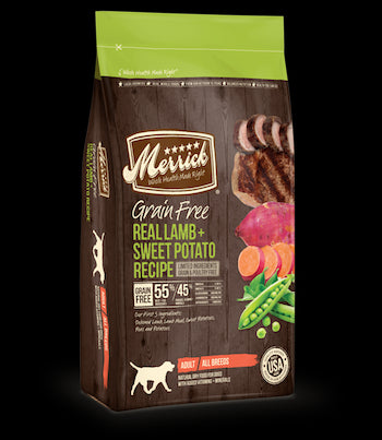 MERRICK Grain Free Dog Food - Lamb and Sweet Potato - for All Life Stages
