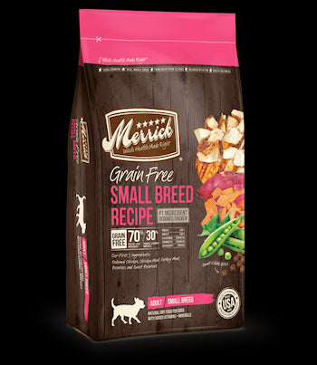 MERRICK Grain Free Dog Food - Small Breed - for All Life Stages