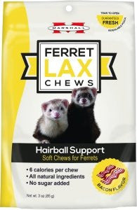 Marshall Ferret Lax Chews Hairball Support