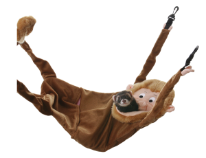 Marshall Hangin' Monkey Ferret Hammock Bed - fits one or more fuzzy friend