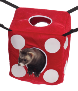 Marshall High Roller Fuzzy Dice Hanging Ferret Bed