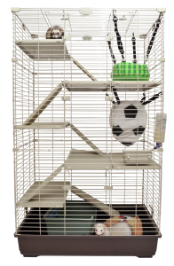 Marshall Penthouse II Multi-Level Ferret and Small Animal Home