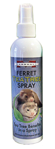 Marshall Tea Tree Spray for Ferrets natural and gentle deodorizer