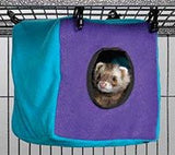 Midwest Ferret Nation & Critter Nation Habitat Accessories - Critter Cube, Ferret Tunnel, Hammock & Scatter Guard - Canadian Pet Connection