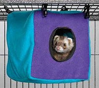 Midwest Ferret Nation & Critter Nation Habitat Accessories - Critter Cube, Ferret Tunnel, Hammock & Scatter Guard