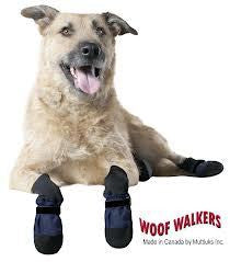 MUTTLUKS Woof Walkers Dog Boots (Set of 4) NEW