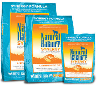 NATURAL BALANCE Dog Food Synergy Formula for All Life Stages