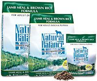 NATURAL BALANCE L.I.D. Limited Ingredient Dog Food Lamb and Brown Rice for All Life Stages