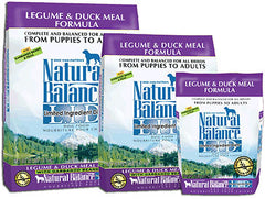 NATURAL BALANCE L.I.D. Limited Ingredient Dog Food Legume and Duck for All Life Stages - Canadian Pet Connection