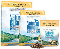 NATURAL BALANCE L.I.D. Limited Ingredient Dog Food Potato and Duck for All Life Stages