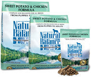 NATURAL BALANCE L.I.D. Limited Ingredient Dog Food Sweet Potato and Chicken for All Life Stages