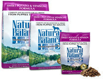 NATURAL BALANCE L.I.D. Limited Ingredient Grain Free Dog Food Sweet Potato and Venison for All Life Stages