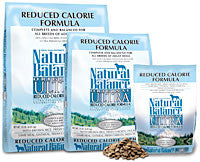 NATURAL BALANCE Original Ultra Reduced Calorie Dog Food for Diet and Weight Management