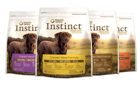 NATURE'S VARIETY Instinct Grain-Free Dog Food (including Healthy Weight Diet and Weight Management Food) - for All Life Stages