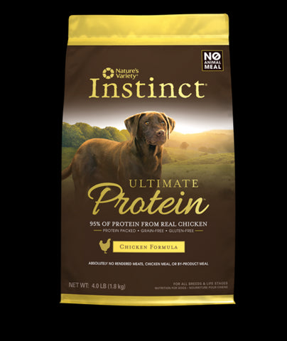 NATURE'S VARIETY Instinct ULTIMATE Food for Dogs - Grain Free Dog Food for All Life Stages