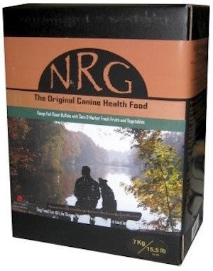 NRG Original Dog Food (Beef / Buffalo / Chicken / Range Fed Buffalo / Salmon) for All Life Stages - Canadian Pet Connection