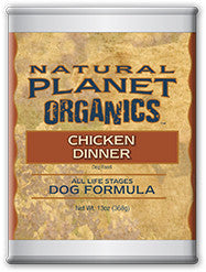 Natural Planet Organics Canned Dog Food - Chicken - for All Life Stages