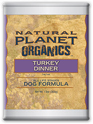 Natural Planet Organics Canned Dog Food - Turkey - for All Life Stages