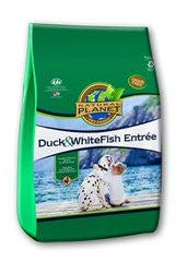 Natural Planet Organics Grain Free Dry Dog Food - Duck and Whitefish - for All Life Stages