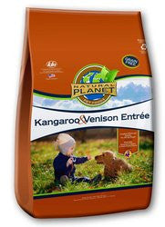 Natural Planet Organics Grain Free Dry Dog Food - Kangaroo and Venison - for All Life Stages