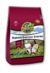 Natural Planet Organics Grain Free Dry Dog Food - Rabbit and Salmon - for All Life Stages