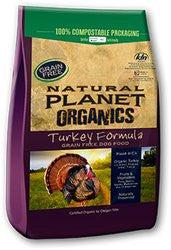Natural Planet Organics Grain Free Dry Dog Food - Turkey - for All Life Stages