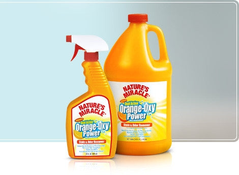NATURE'S MIRACLE Orange-Oxy Stain & Odor Remover