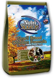 Nutri Source Grain Free Small Breed Dog Food - Chicken Formula