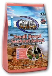 Nutri Source Small Breed Grain Free Dog Food - Seafood Select