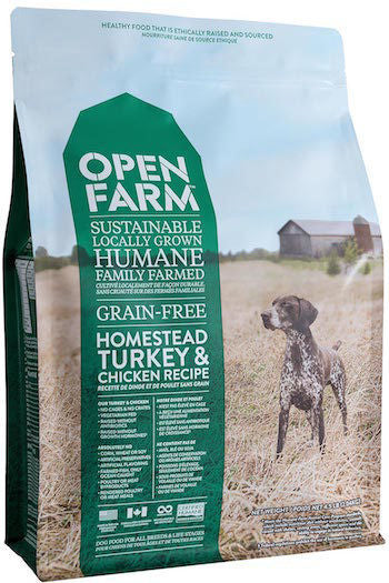 OPEN FARM Dry Dog Food - Homestead Turkey and Chicken - Grain Free for All Life Stages - Canadian Pet Connection