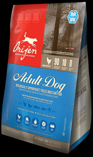 ORIJEN Freeze Dried Adult Dog Food - Canadian Pet Connection