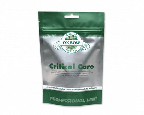 OXBOW Critical Care (Critical Care should only be purchased from licensed veterinarians).