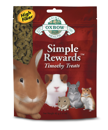 OXBOW Simple Rewards Timothy Treats for Small Animals at Canadian Pet Connection