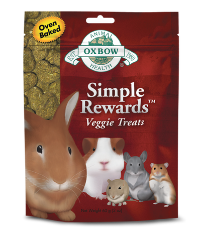 OXBOW Simple Rewards Veggie Treats for Small Animals