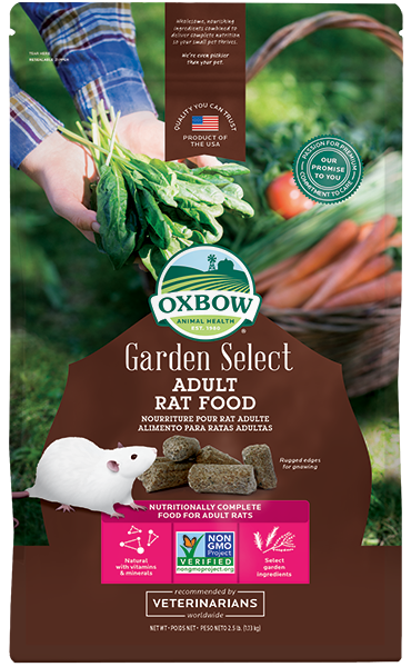Oxbow Garden Select Adult Rat Food at Canadian Pet Connection