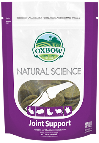 Oxbow Natural Science Joint Support Supplement for Small Animals