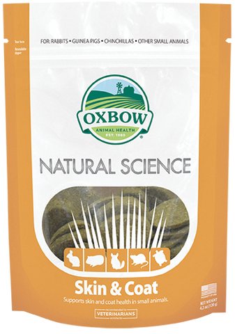 Oxbow Natural Science Skin and Coat Supplement for Small Animals