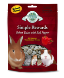 Oxbow Simple Rewards Baked Treats for Small Animals - Bell Pepper at Canadian Pet Connection