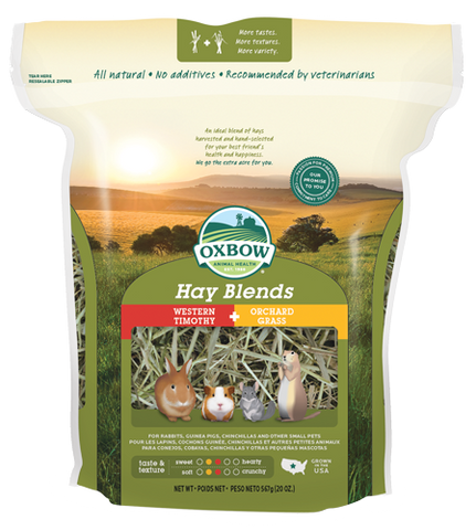 Oxbow Western Timothy and Orchard Grass Hay Blend