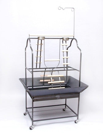 PREVUE HENDRYX Parrot Open Bird Cage Playstand Model 3180