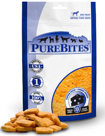 PUREBITES Dog Treats - Freeze Dried Cheddar Cheese - Canadian Pet Connection