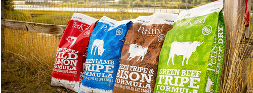 PetKind Dry Dog Food (Green Tripe / Lamb / Bison / Salmon) for All Life Stages - Canadian Pet Connection
