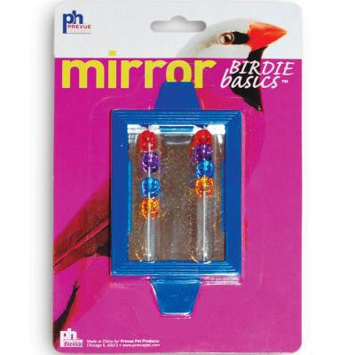 Prevue Hendryx Birdie Basics Clip On Mirror with Beads