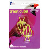 Prevue Hendryx Birdie Basics Two Pack Treat Clips for Bird Cages