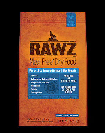 RAWZ Dog Food - Fish - for All Life Stages - Canadian Pet Connection