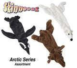 SKINNEEEZ DOG TOYS - ARCTIC - Penguin / Moose / Polar Bear - Canadian Pet Connection