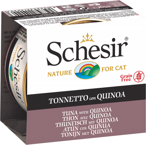 Schesir Tuna and Quinoa Canned Cat Food